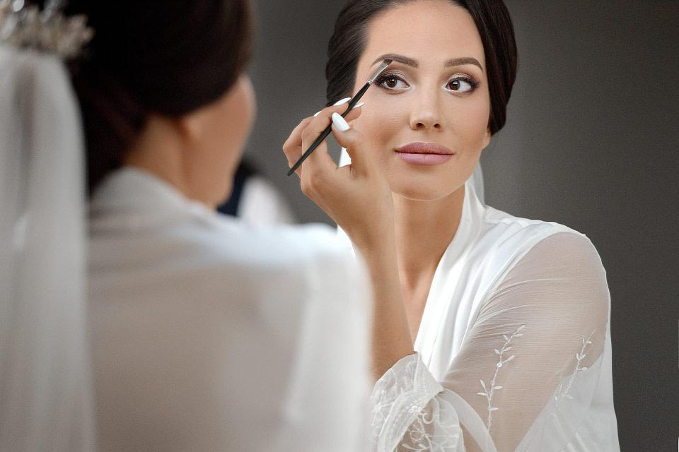 макияж на сборах невесты в Киеве