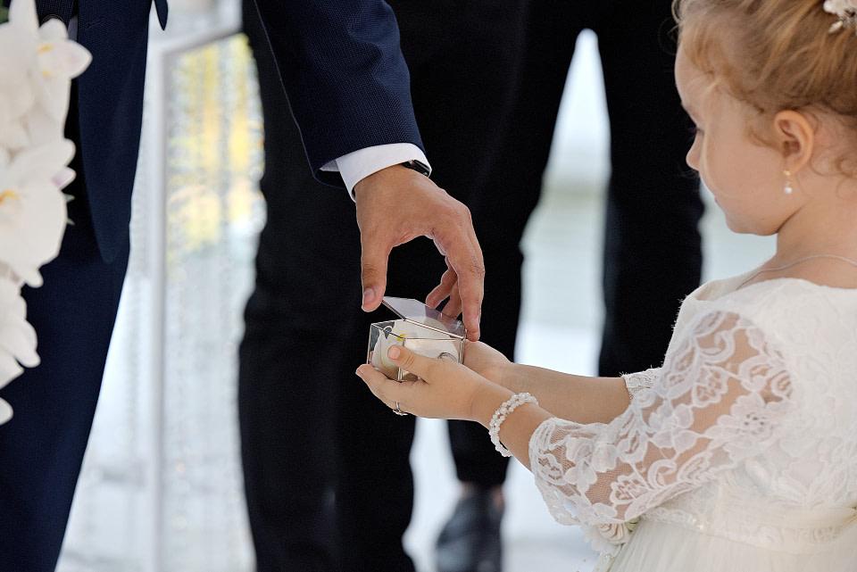 Кольца на свадебной церемонии